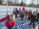 Zimowy spacerek maluchów