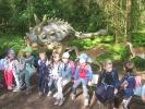 Wycieczka do Parku Dinozaurów w  Nowinach Wielkich 06.06.2017